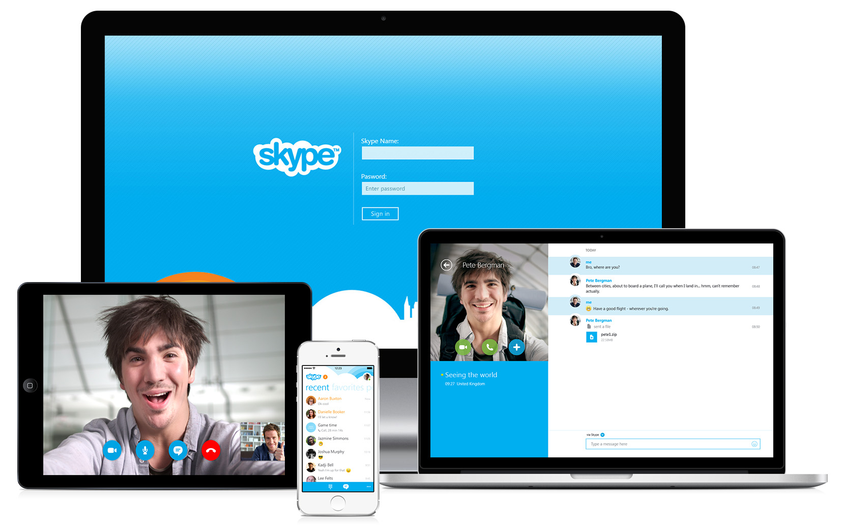 skype-website-versie